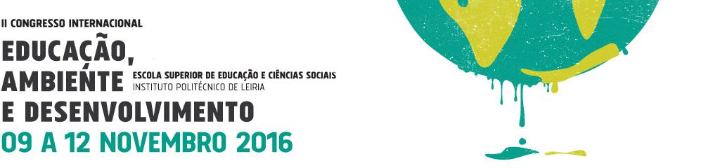 II Congresso Internacional Educação, Ambiente e Desenvolvimento